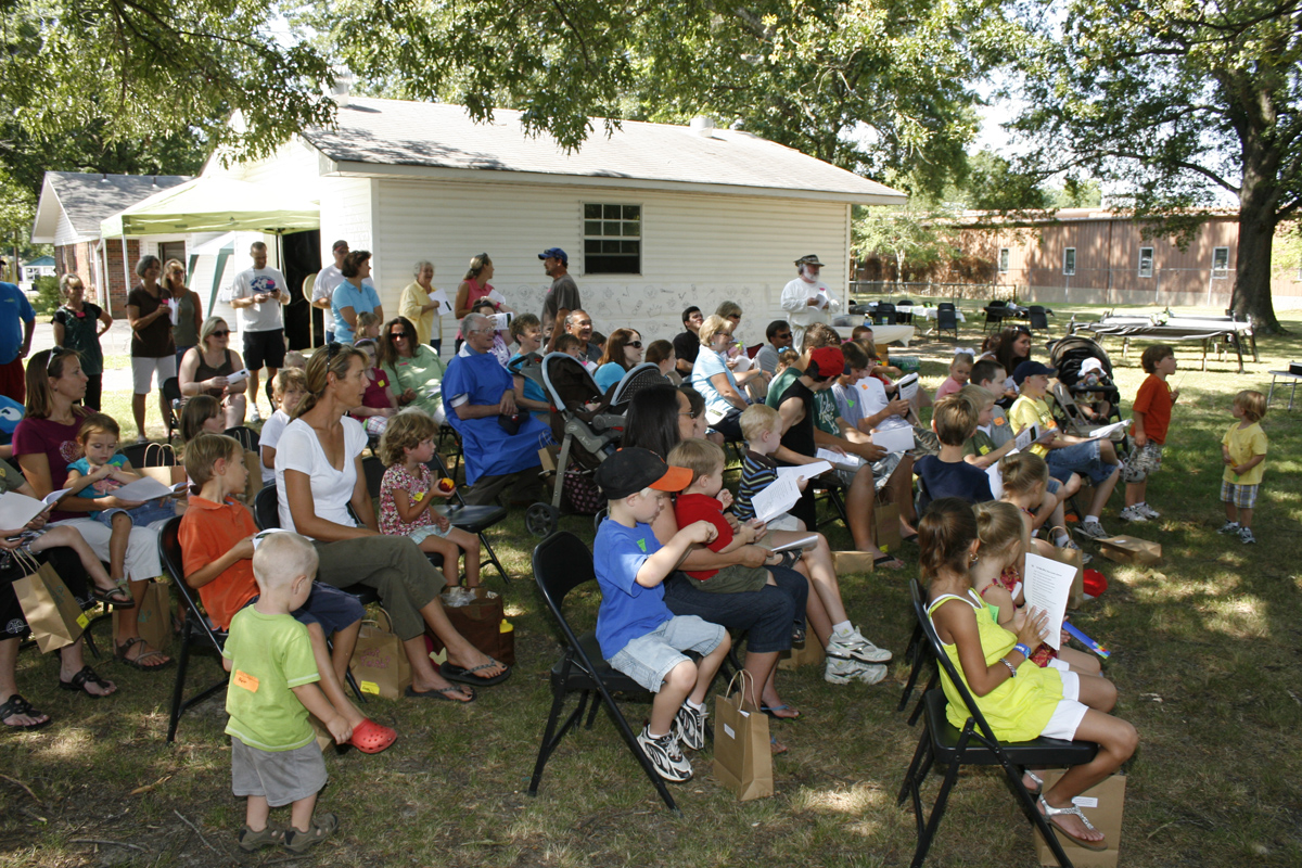 backyard bible adventure northside church of christ in conway